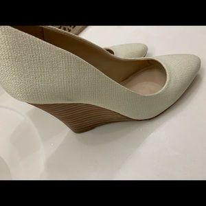 BCBG wedge heels